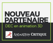 Partenariat avec Animation Critique